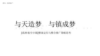2020禹洲航空小镇整合营销推广沟通方案-283P