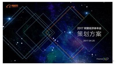 购物平台阿里巴巴集团员工年会大会活动策划方案【120P】