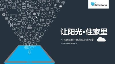 家电品牌小天鹅TD80-Mute160WDX新品上市推广方案【29P】