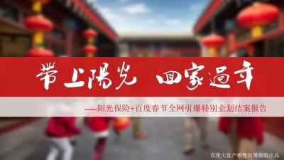 金融保险品牌阳光保险春节项目结案报告策划方案【21P】
