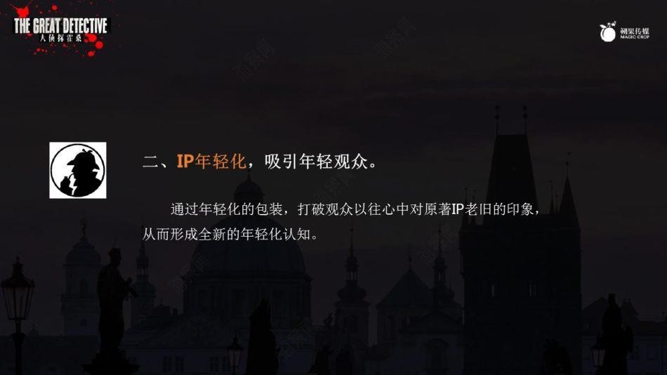 侦探大电影《大侦探霍桑》整合营销策划方案【74P】