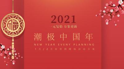 2021房地产元月暖场系列潮流中国年主题活动策划方案-59P