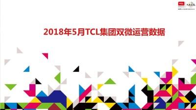 家电品牌TCL集团双微运营5月月度总结策划方案【34P】