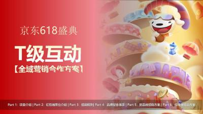 2021年京东618盛典T级互动全域营销合作方案37P