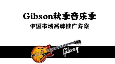 乐器品牌Gibson与搜狐视频秋季音乐季传播策划方案【24P】