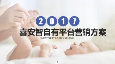 母婴行业喜安智自有平台推广方案[110P]