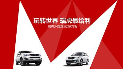汽车品牌[玩转世界 瑞虎最给利]【易车】瑞虎3和瑞虎5专题促销活动策划方案【16P】